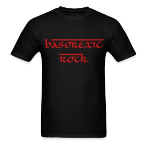 BASOREXIC ROCK - Men's T-Shirt