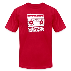 Subatomic Sound Boombox - Men's Fine Jersey T-Shirt