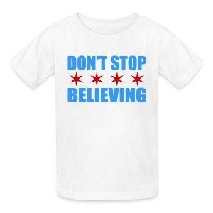 Don't Stop Believing Flag - Kids' T-Shirt