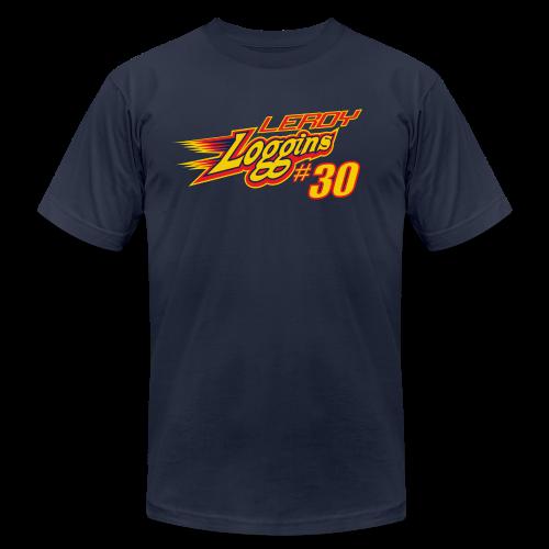 Leroy Loggins hashtag - Men's  Jersey T-Shirt