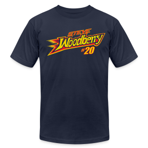 Steve Woodberry hashtag - Men's Fine Jersey T-Shirt
