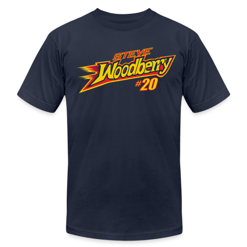 Steve Woodberry hashtag - Men's  Jersey T-Shirt