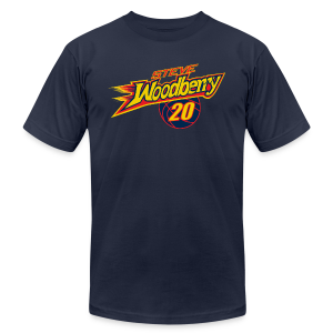 Steve Woodberry ball - Men's T-Shirt by American Apparel