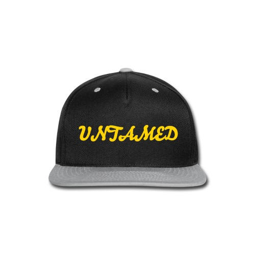 untamed snapback - Snap-back Baseball Cap