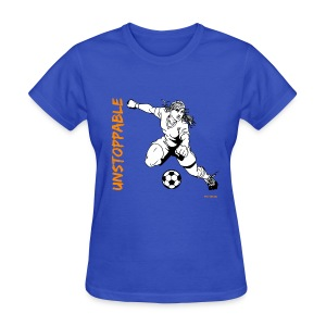 Soccer - Unstoppable - Women 2 - Women's T-Shirt
