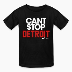 Can't Stop Detroit Kids' Shirts