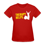 T-Shirts ~ Women's T-Shirt ~ Therapy helps.