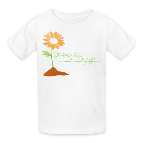World of Difference - Kids' T-Shirt