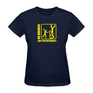 T-Shirts ~ Women's T-Shirt ~ No Wonder! Just Physiotherapy.