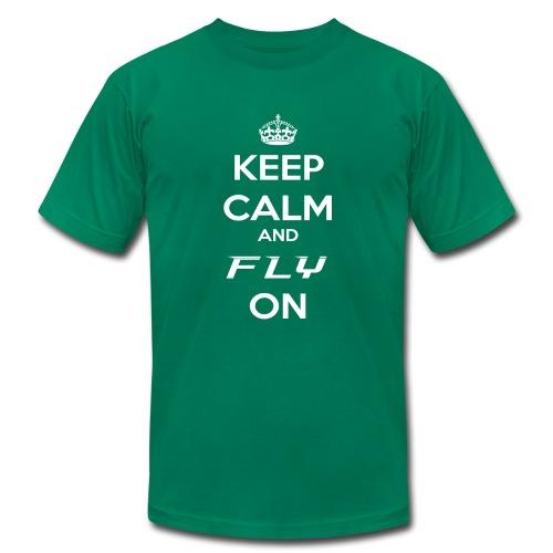 Fly On! - Men's Fine Jersey T-Shirt