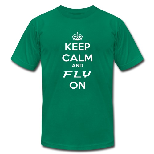 Fly On! - Men's  Jersey T-Shirt