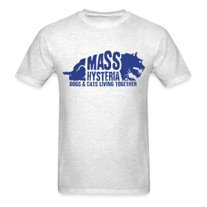 Alternate Mass Hysteria Logo - Men's T-Shirt