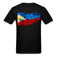 T-Shirts ~ Men's T-Shirt ~ Men's Definitely Filipino Flag Shirt