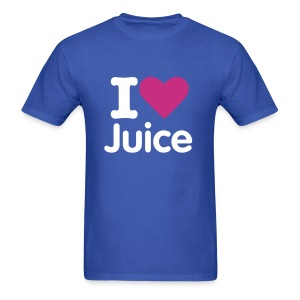 I HEART Juice (Mens Shirt) - Men's T-Shirt