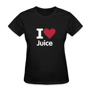 I HEART Juice (Womens Shirt) - Women's T-Shirt