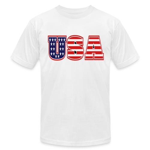 USA#1 - Men's  Jersey T-Shirt
