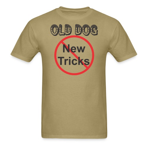 Old Dog - Men's T-Shirt