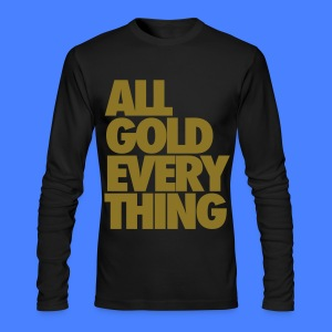 All Gold Everything Long Sleeve Shirts - Men's Long Sleeve T-Shirt by Next Level