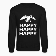 happy happy happy Long Sleeve Shirts