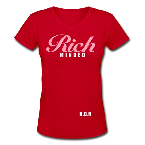 rich - Women's V-Neck T-Shirt