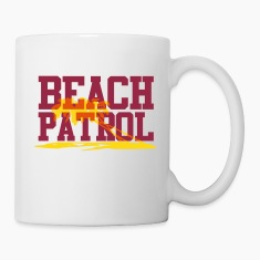 beach patrol Bottles & Mugs