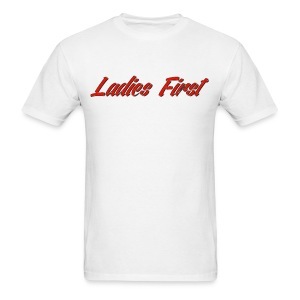 Ladies First Men's T-Shirt - Men's T-Shirt