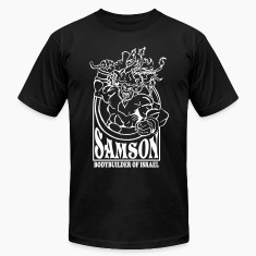 Samson. Bodybuilder T-Shirts