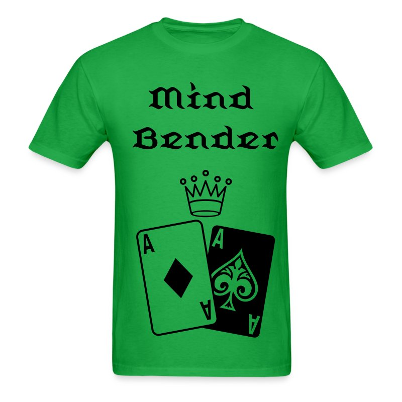 Poker Cards with Crown - Men's T-Shirt