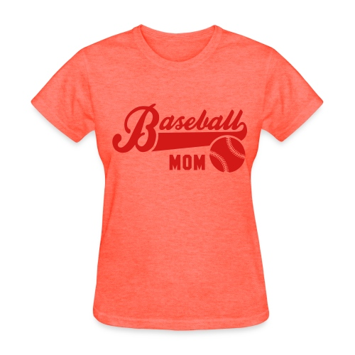WOMENS TEE BASEBALL MOM - Women's T-Shirt
