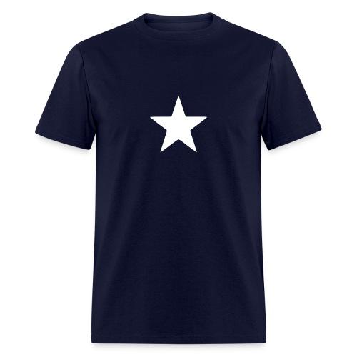 Captain America Star - Men's T-Shirt