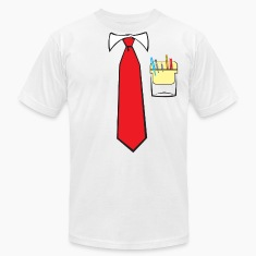 Tie and Pocket Protector T-Shirts