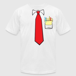Tie and Pocket Protector T-Shirts - Men's T-Shirt by American Apparel