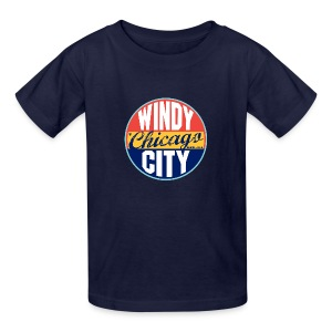 Kids Windy Chicago City - Kids' T-Shirt