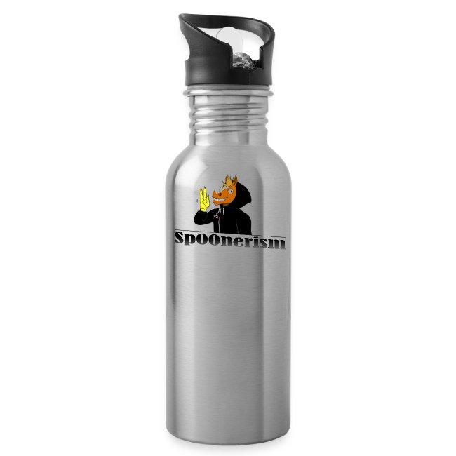 Sp00nerism water bottle