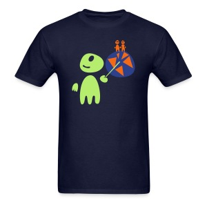 Earthlings101 (male, standard) - Men's T-Shirt