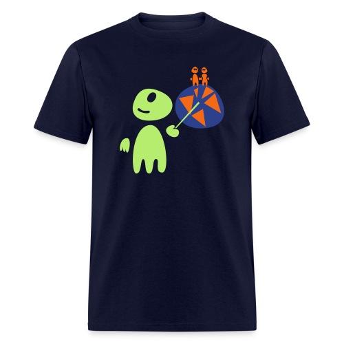 Earthlings101 (male, standard) - Men's T-Shirt