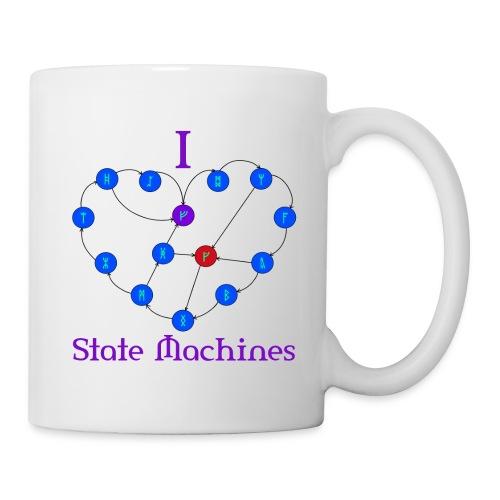 I Heart State Machines Mug - Coffee/Tea Mug
