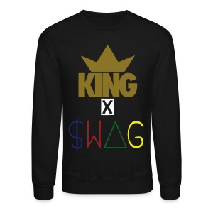 EXCLUSIVE KING SWAG KING Crew Neck Sweater  - Crewneck Sweatshirt