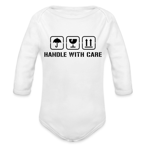 Fragile Baby - Organic Long Sleeve Baby Bodysuit