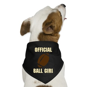 Football - Official Ball Girl Dog Bandana - Dog Bandana