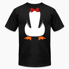 penguin with bow tie T-Shirts