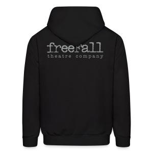 freeFall Logo Men's Hoodie - Men's Hoodie