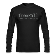 Long Sleeve Shirts ~ Men's Long Sleeve T-Shirt by American Apparel ~ freeFall Logo Men's Long Sleeve T