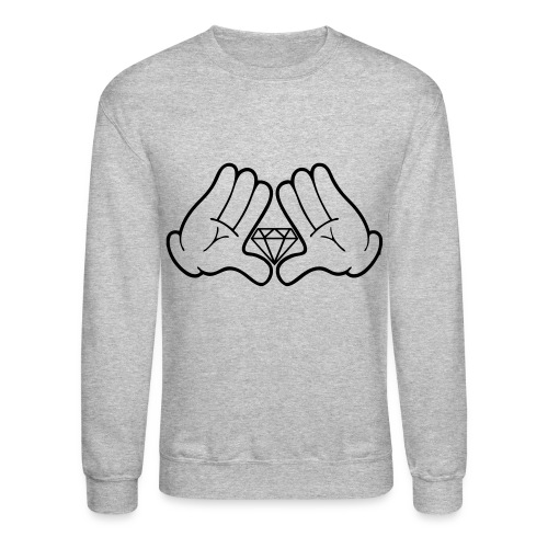 Mickey Diamond Crewneck - Crewneck Sweatshirt