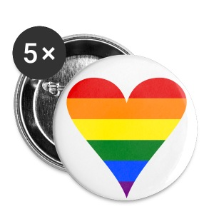 Pride Heart - Small Buttons