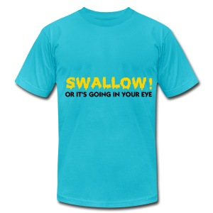 swallow - Men's T-Shirt by American Apparel