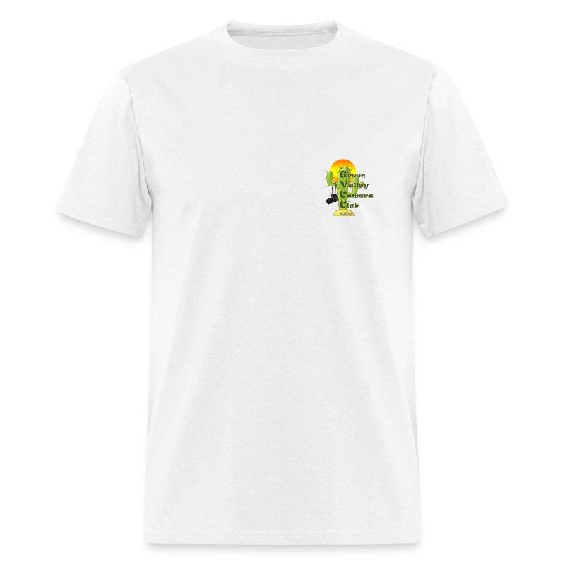 GVCC Logo for Silkscreen.png - Men's T-Shirt