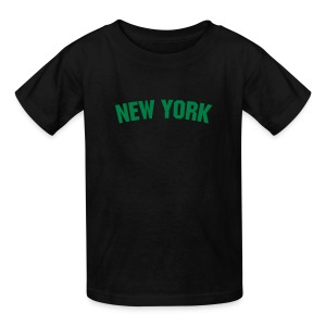 Kids New York (Green) - Kids' T-Shirt