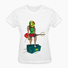 Guitar Girl Women's T-Shirts