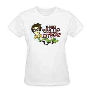 The Jumpmaster Extreme! (Chicks) - Women's T-Shirt